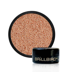 micro beads - rose gold