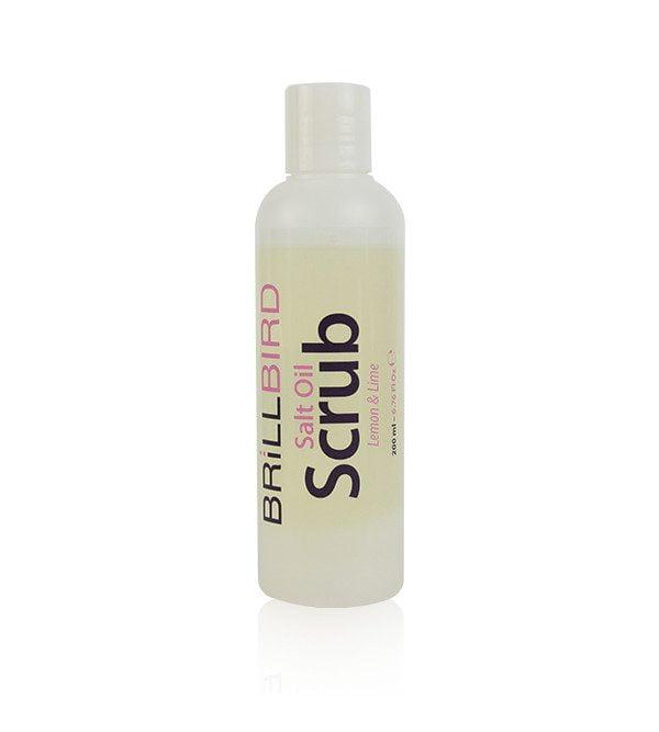 Salt oil scrub