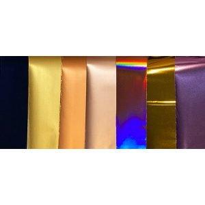 7 colors transfer foil