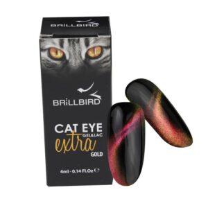 3D Cat eye Gold