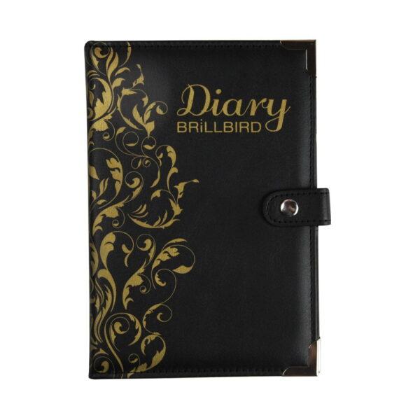 Diary balck gold