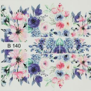 3d nail art sticker b140