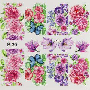 nail stickers b30