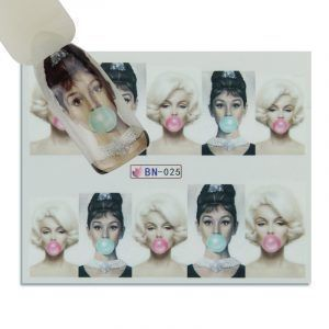nail stickers bn025