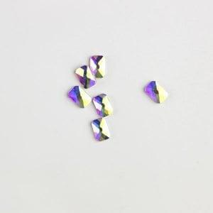 Rhinestone emerald crystal ab
