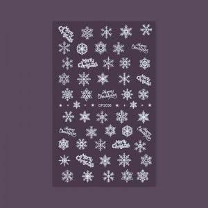 Nail Sticker - Christmas Style dp2036